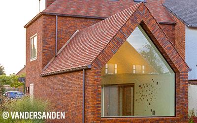 Réalisation briques belges Vandersanden