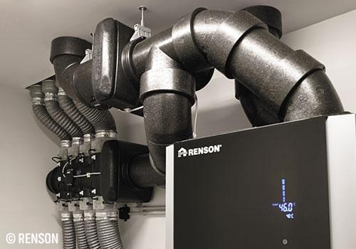 Système ventilation Renson