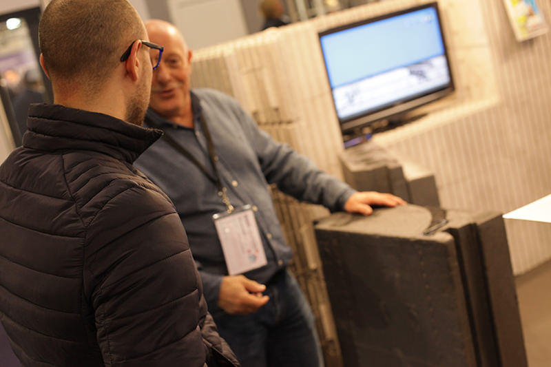 Visiteurs du salon ENERGIES+CONSTRUCTION