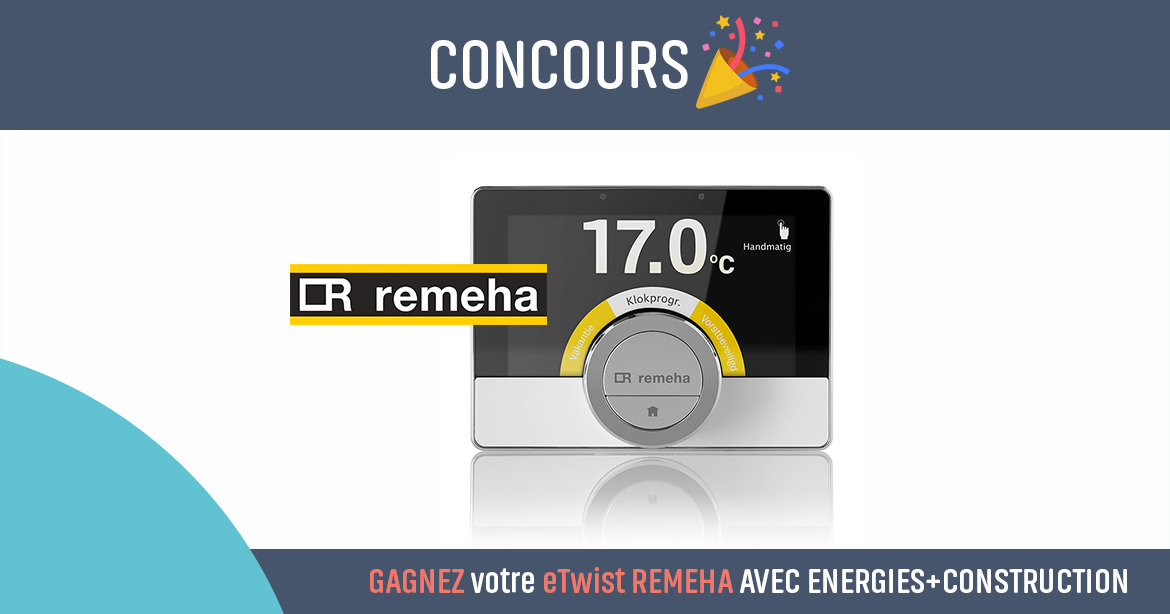 Coucours pour gagner Remeha eTwist